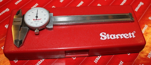 "STARRETT® Mini 4"" Dial Caliper - Global Series"
