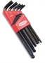 WILLIAMS 13 piece BALL END Hex Key Set