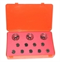 "12 Piece Drill Bushing Kit - With 3 ""Egg Cup"" Bushing Holders"