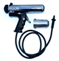 USED SEMCO® Pneumatic Pistol Grip Sealant Gun with TWO Retainers (2-1/2 oz & 6 oz) & Hose