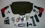 Sheet Metal Technicians Tool Bag Kit w/ SIOUX 3X Rivet Gun & SIOUX Drill