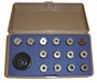 15 Piece Drill Bushing Kit - Brown Tool Exclusive!