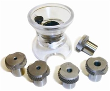 "6 Piece Drill Bushing Kit - Includes ""Egg Cup"" & 5 Bushings"