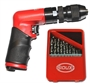 NEW! SIOUX .4 Horse Power Signature Series Mini Palm Drill with KEYLESS CHUCK - 2600 RPM (FREE 21 Pc Drill Bit Kit)