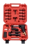 "Deluxe ""777"" Rivet Gun Kit with 3X Rivet Gun & Four Bucking Bars"