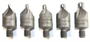 5 Piece Set of 82° HSS Countersink Cutters