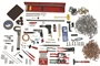 Deluxe RV Aircraft Tool Kit - 658 Pieces! Comprehensive Kit with 2X Rivet Gun - Now Includes TUNGSTEN BUCKING BAR!
