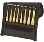 STARRETT® 8 Piece BRASS Pin Punch Set - USA MADE!