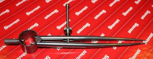 starrett 6 machinists dividers usa made